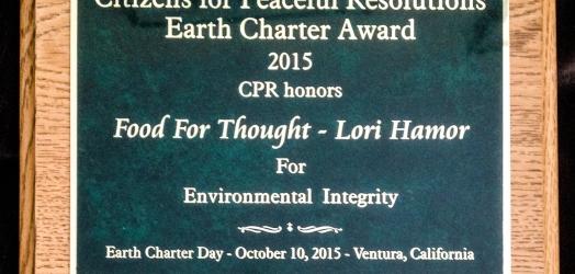 FFT executive Director Lori Hamor receives award!